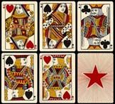 Early American Standard Playing-Card
