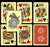 early standard playing card