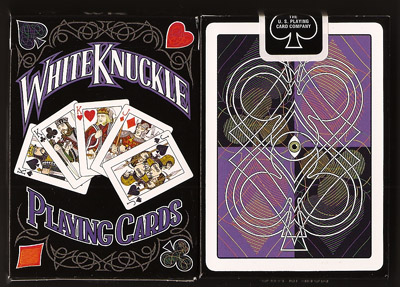 WhiteKnuckle Playing Cards