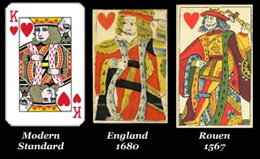The English Pattern Playing Cards
